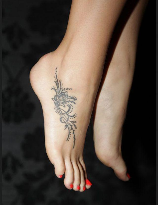 20++ Tatouage femme cheville pied trends