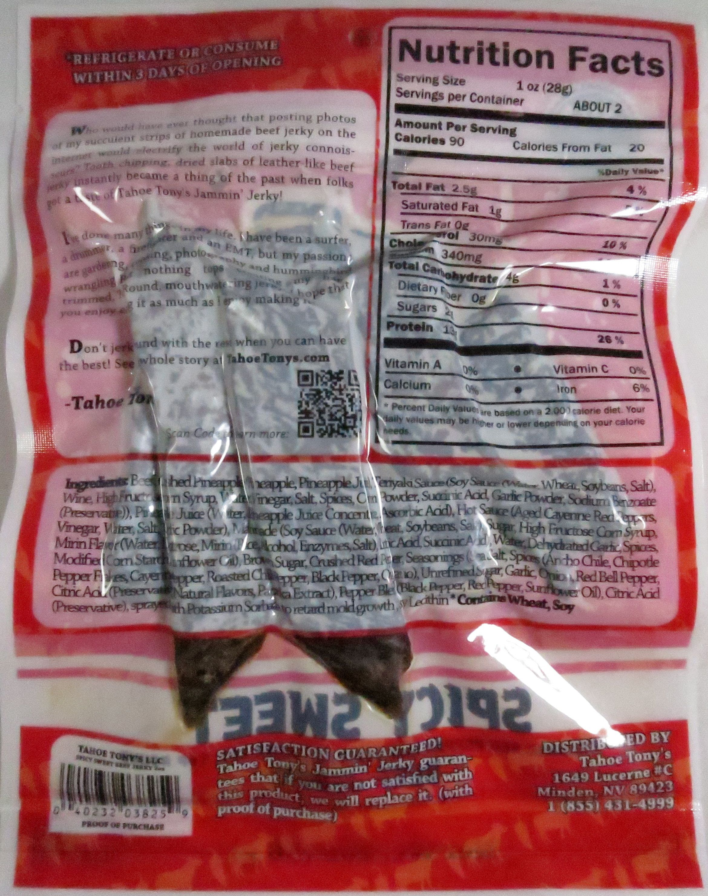 Discover How Tahoe Tony S Jammin Jerky Spicy Sweet 100 Grass Fed Beef Jerky Fared In A Jerky Review Http Grass Fed Beef Jerky Beef Jerky Grass Fed Beef