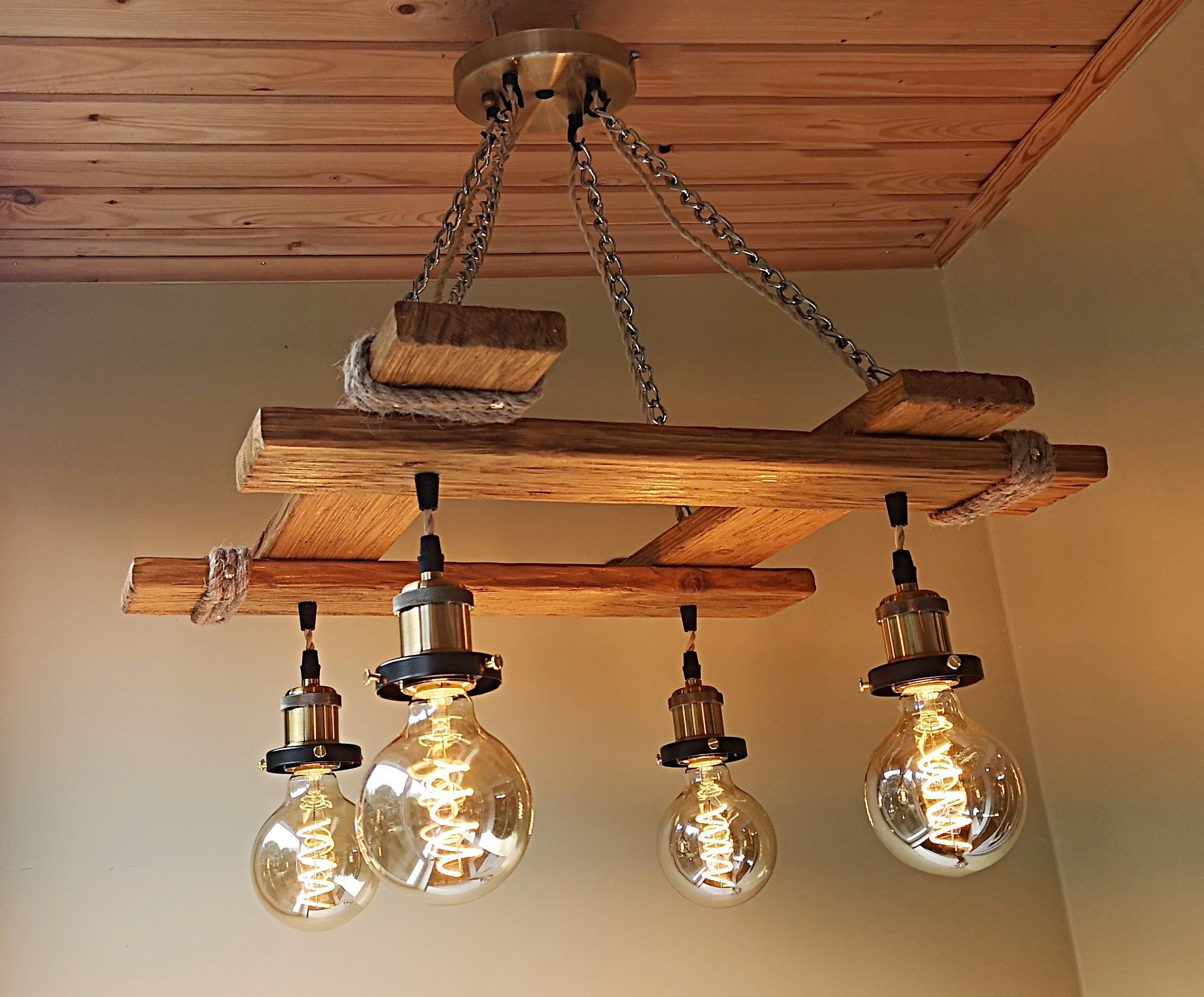 Rustic light fixture hanging light rustic lighting industrial pendant light wood chandelier rustic light farmhouse light dining