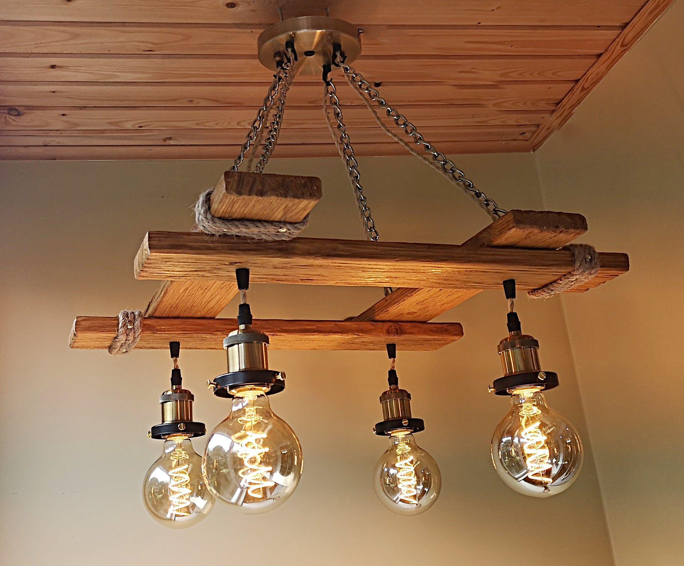 Rustic Light Fixture Hanging Light Rustic Lighting Industrial Pendant Light Wood Chandelie Rustic Light Fixtures Wood Chandelier Rustic Rustic Lighting