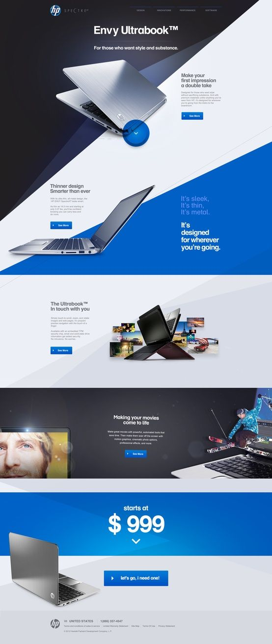 Website Inspiration December 2012 Modern Web Design Web Layout Design