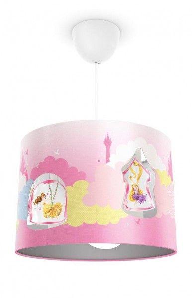 philips lampada paralume in tessuto principesse disney , lampade ... - Lampade Bambini Philips