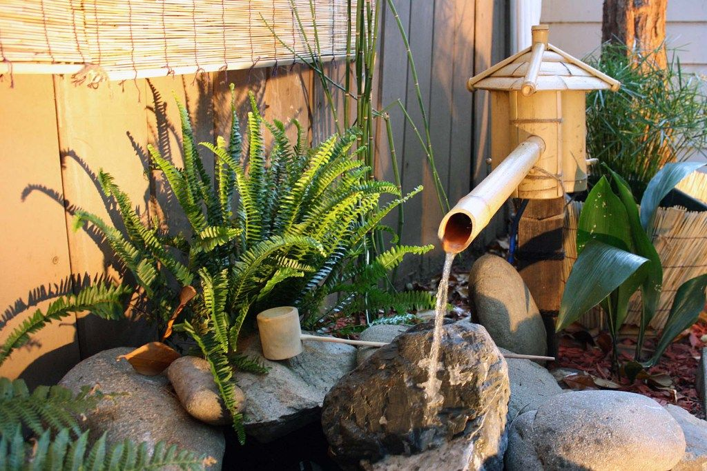 DIY Japanese Bamboo Fountain
