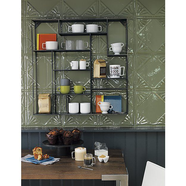 new concept 7c81b 5de27 CB2 Alcove Wall Shelf | Home Decor | Dining room wall decor ...