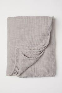 Tagesdecke In Baumwollmusselin Tagesdecke Tagesdecke Beige Und Baumwolle