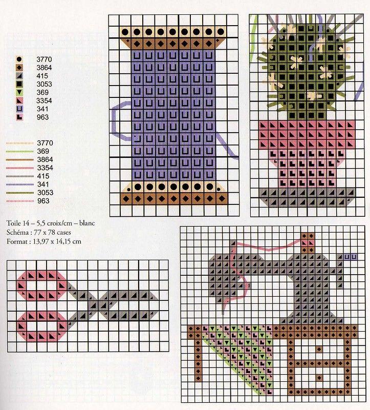 Libro: Las puntas al punto de croix 2008 - Costura, bordado - CREATIVIDAD DE LAS MANOS - Directorio del artículo - LÍNEAS DE LA VIDA