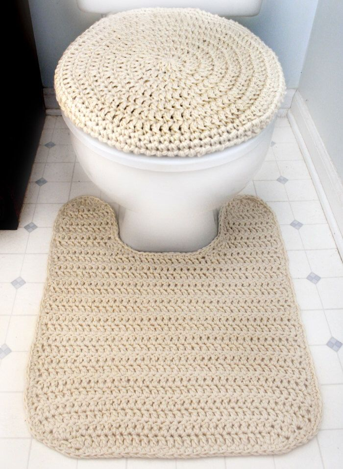 Miraculous Toilet Seat Cover And Contour Rug Pdf Crochet Pattern Squirreltailoven Fun Painted Chair Ideas Images Squirreltailovenorg