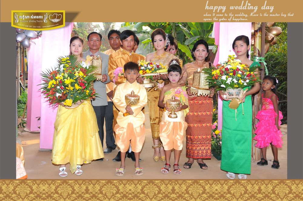 Reception Ceremony For The First Shipment Of Cambodian: Cambodian Wedding Ceremony And Reception