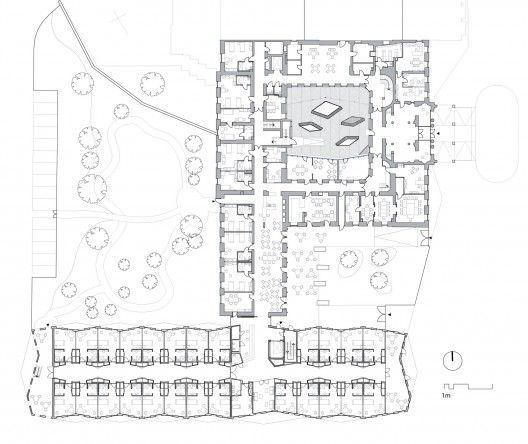 Nursing Home Floor Plan Design House Design Plans