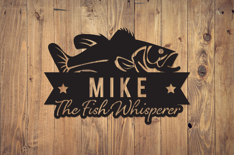 Custom Metal Fish Sign | Metal Name Sign | Metal Signs | Free Shipping