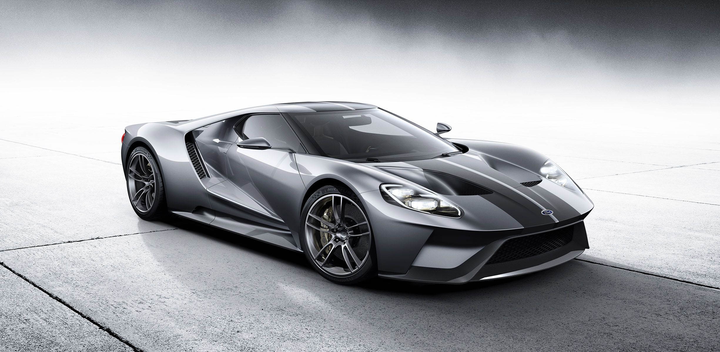 Ford Gt Shown In Silver Will Be Pricier And Produced In Smaller Numbers Than Previous Model Reports Photos