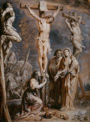 The Crucifixion, by Abraham Jansz van Diepenbeeck, 17th century.