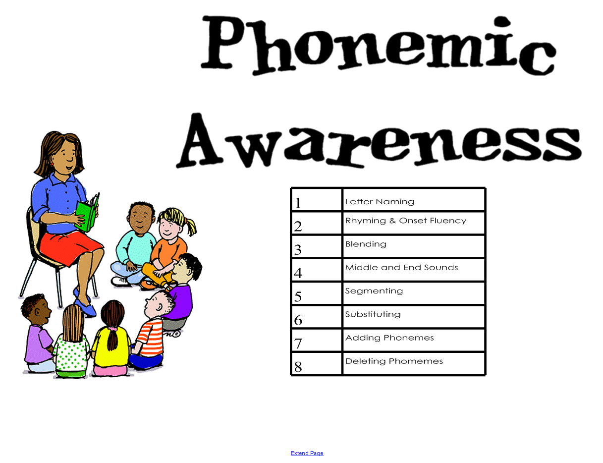 phonemic awarness Phonemic awareness is the ability to hear the separate sounds that comprise   the following phonemic awareness assessment overview is designed to display .