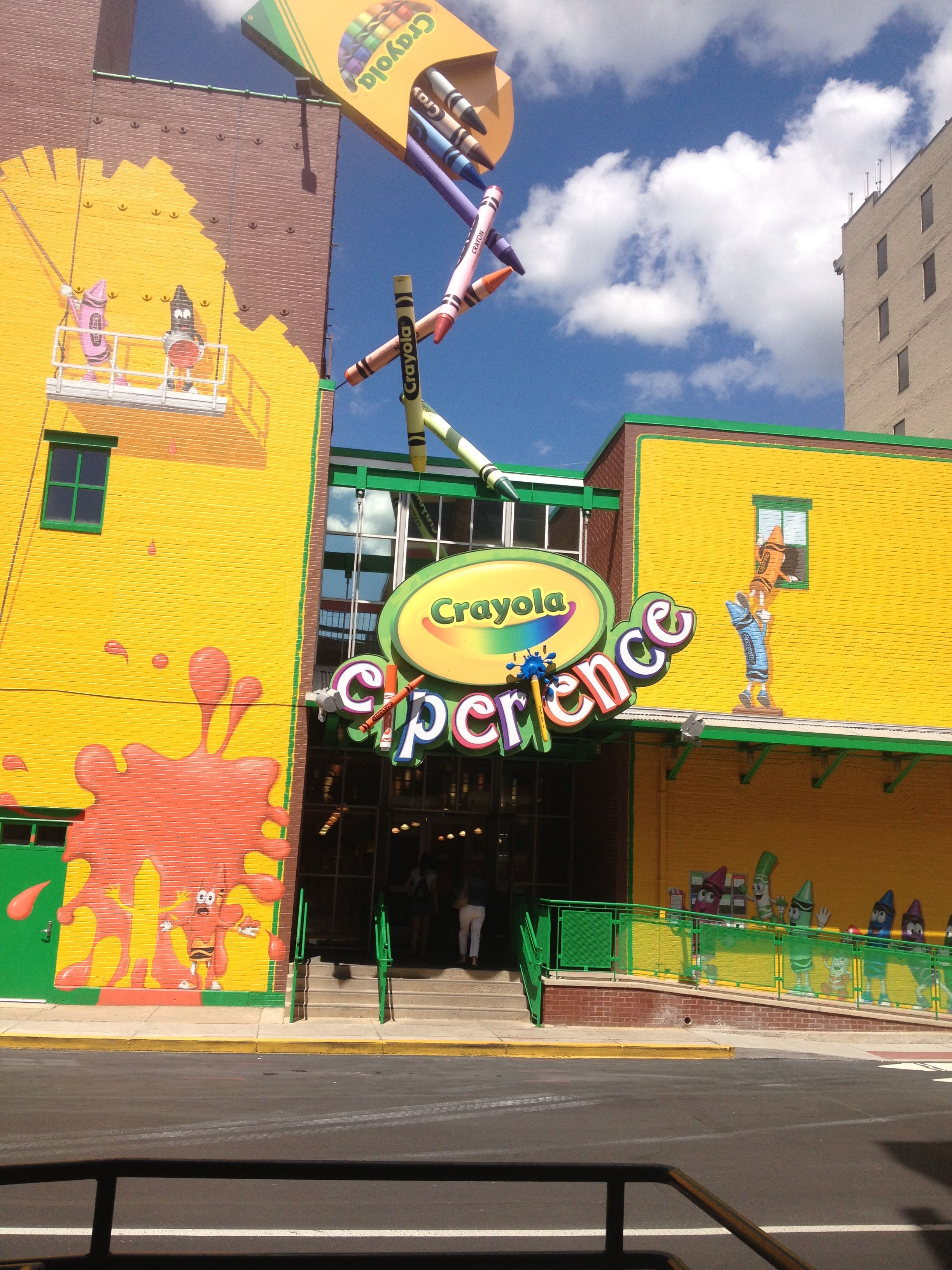 crayola factory easton pa i think this would be fun to go see