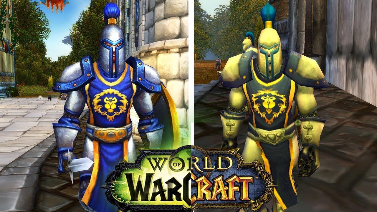 Graphics Comparison Legion Vs Vanilla World Of Warcraft Wow Worldofwarcraft Blizzard Hearthstone Wow Warcraft Blizzar World Of Warcraft Warcraft Legion
