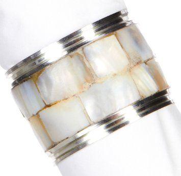 Amazon.com - Kemp & Beatley Mother Of Pearl Napkin Ring -