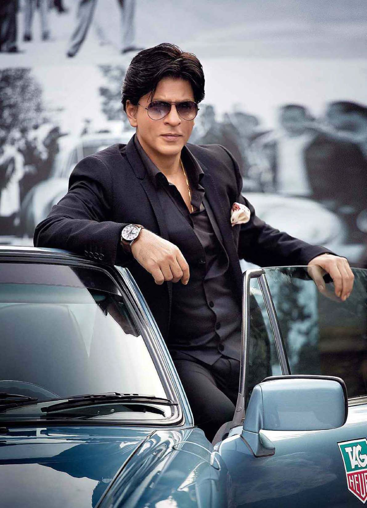 Shahrukh khan black and white pictures