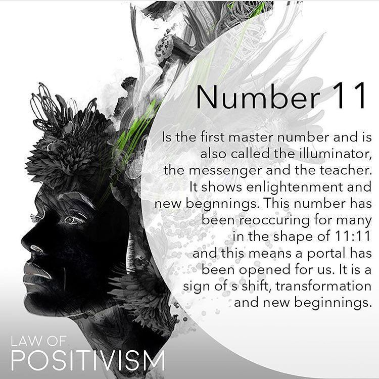 My lucky number  Master number 11 is the portal of imitation and is