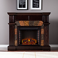 "45.5"" Cartwright Convertible Classic Espresso Electric Fireplace - FE9287"