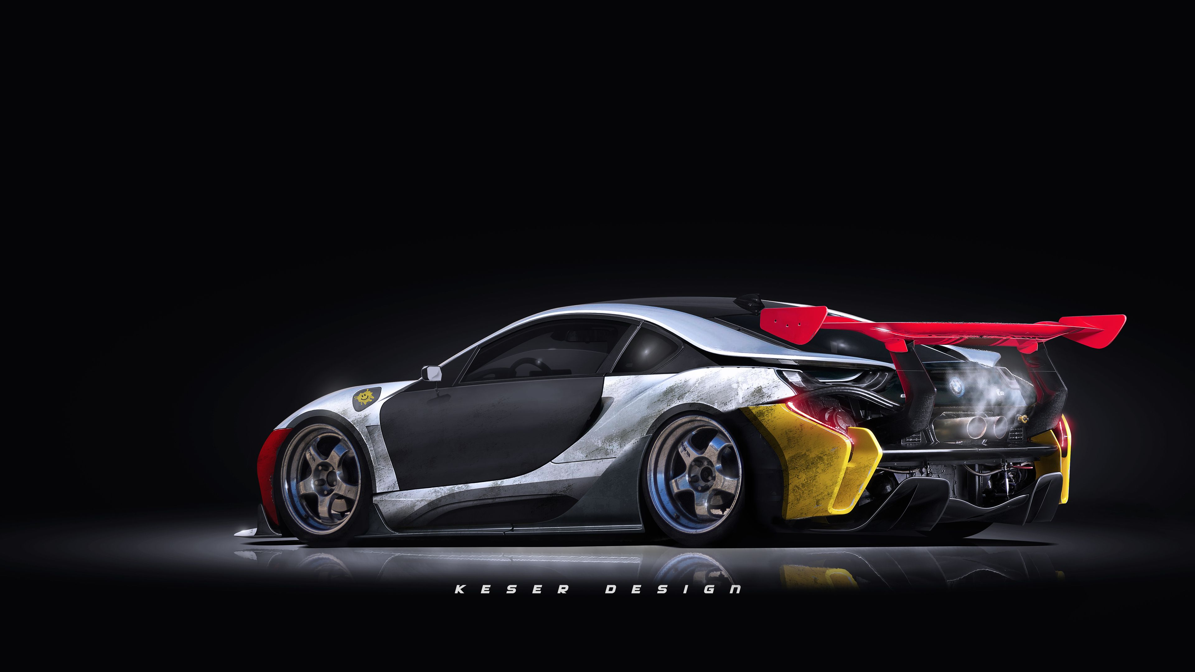 Bmw I8 Digital Art Tuned Hd Wallpapers Deviantart Wallpapers Cars