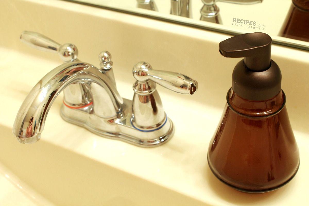 Homemade foaming hand soap recipe soap thieves