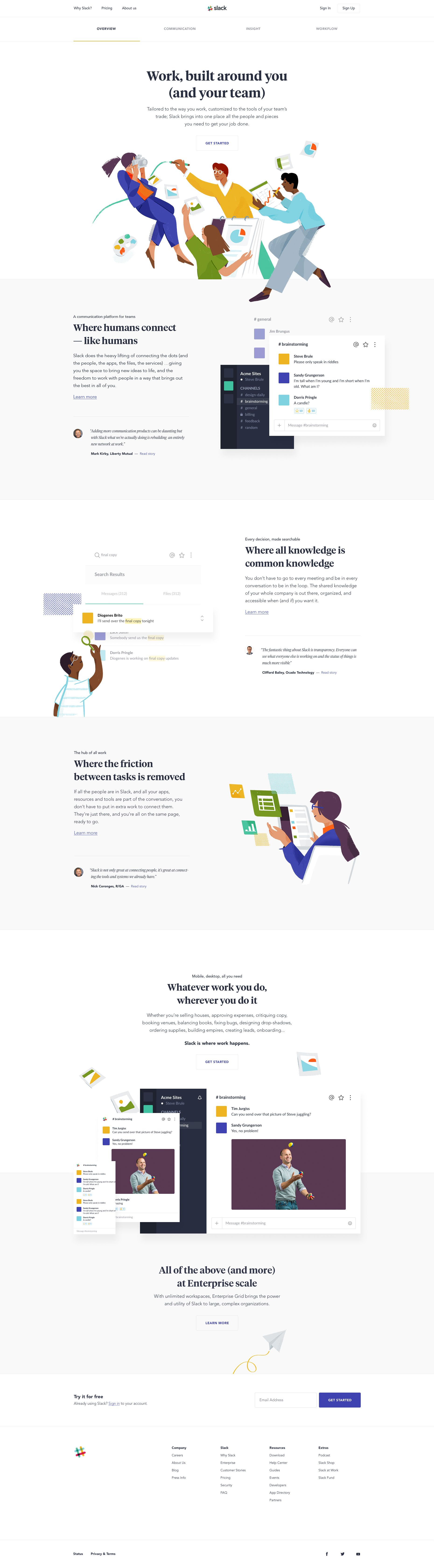 Why slack by gene ross on ui design pinterest ui ux