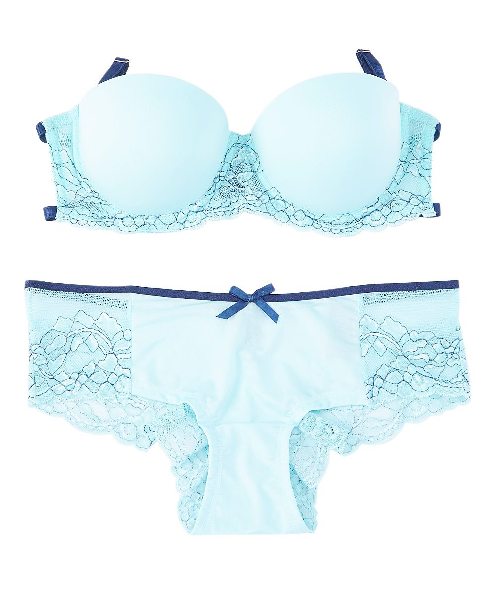 633dd216a7c2f Blue Kissing in Cage Cutout Demi Bra   Hipster