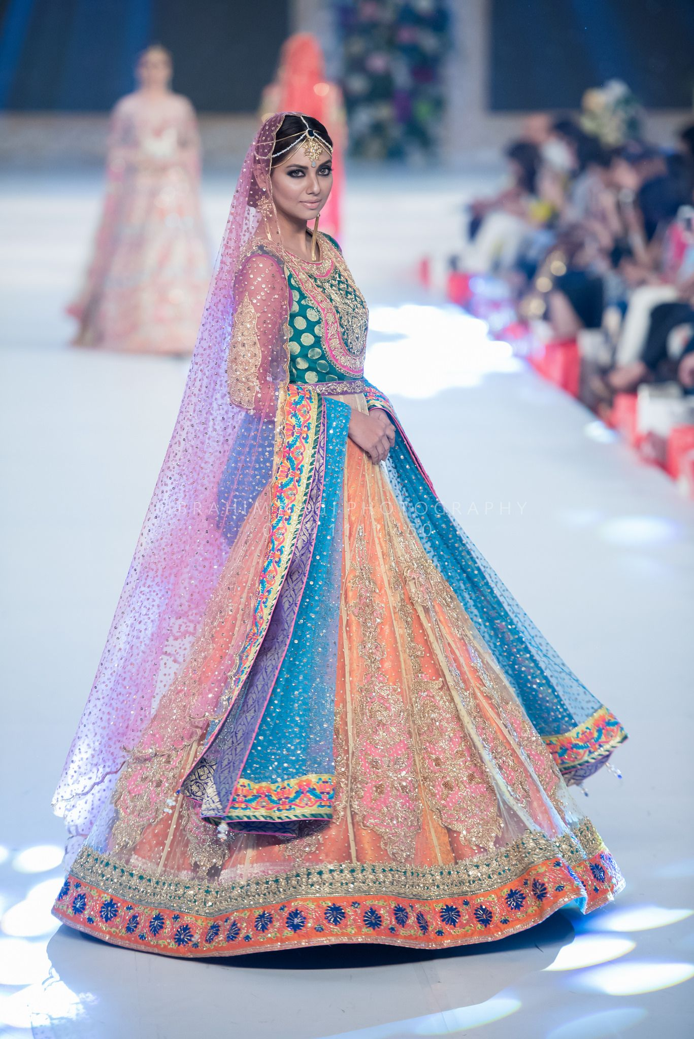 South asian wedding dresses  PFDC  Pakistan Catwalks and Models
