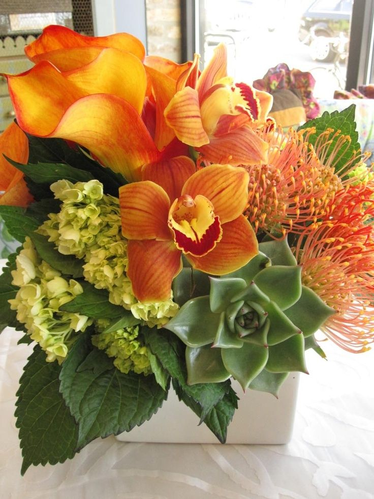 Image result for long low floral centerpieces white and