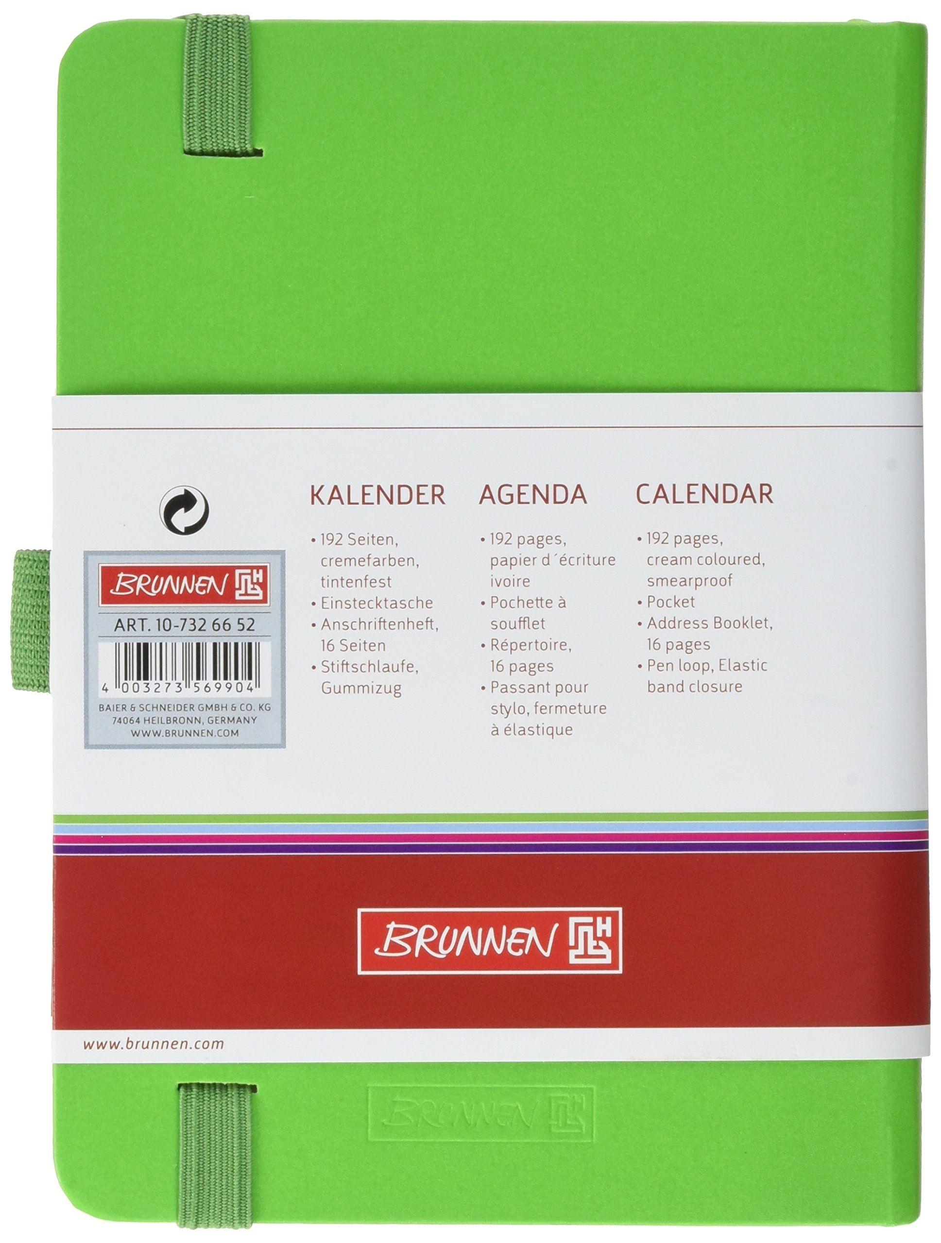 Brunnen Taschenkalender 2019 Gra N Kompagnon A6 2 Seiten 1