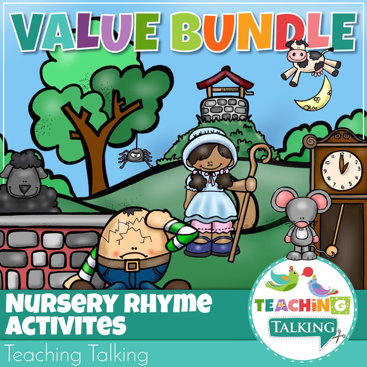 10 Nursery Rhymes For Kindergarten Activities