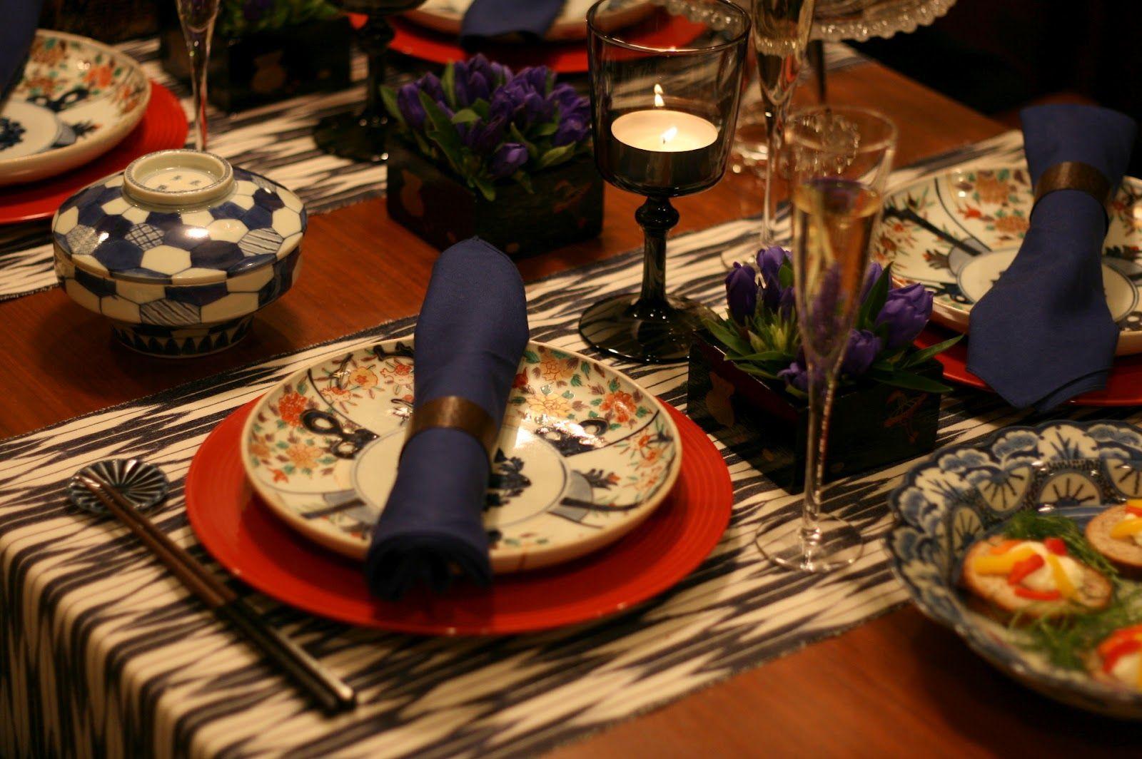 Amazing Traditional Japanese Table Setting Part - 6: Japanese Traditional Style Table Setting