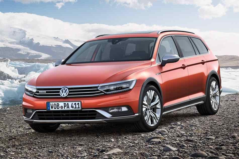 The New 2018 2019 Volkswagen Passat Alltrack Wagon For Easy Off Road Vw Passat Volkswagen Passat Volkswagen