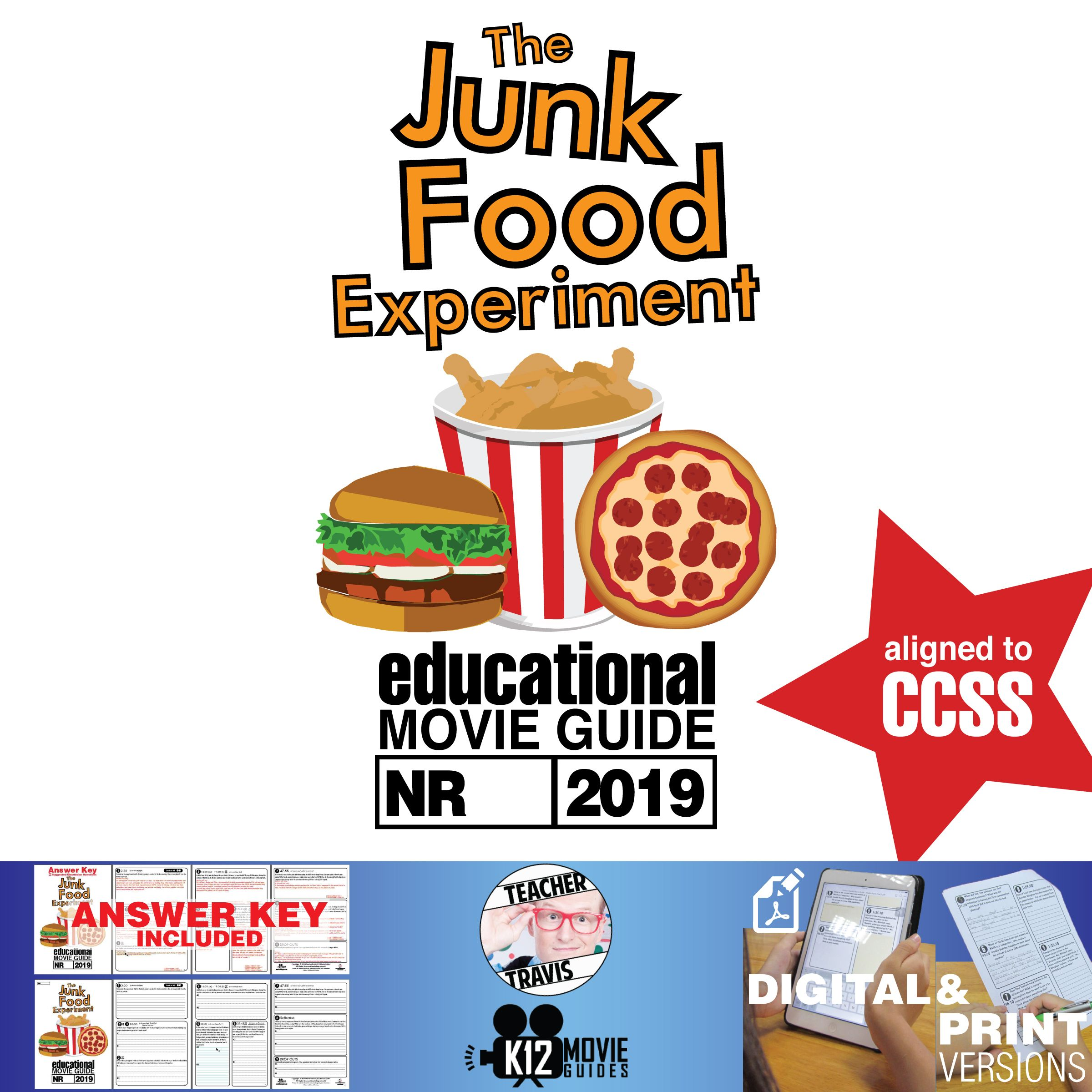 The Junk Food Experiment Documentary Movie Guide