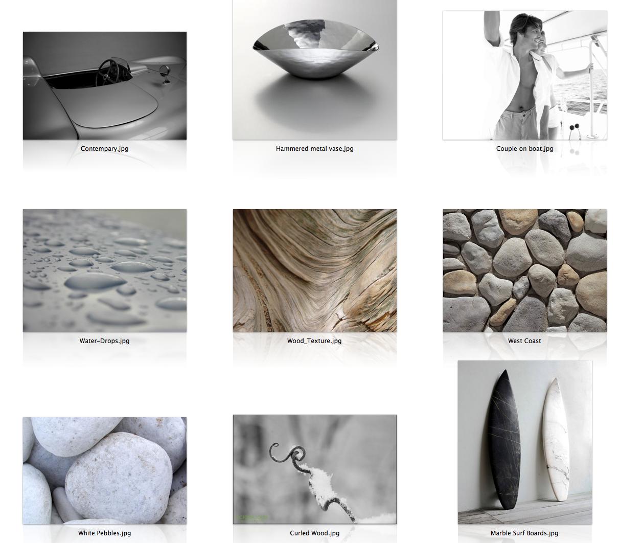 Concept Board: Natural, Organic, Luxury #eco #interior