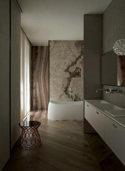 bagno arredo moderno - bagno moderno con seduta di design | design ... - Bagni Con Mutina