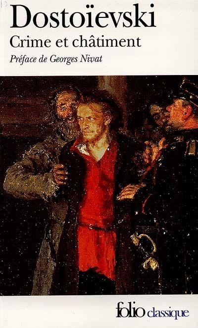 Crime Et Châtiment F Dostoievski Crime Et Chatiment Crime Livres à Lire