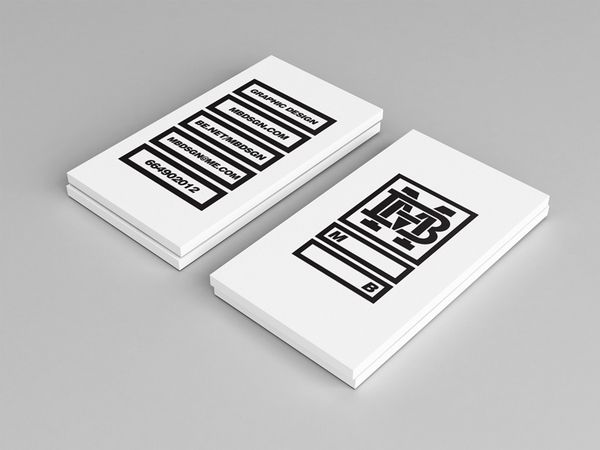 Tarjetas de presentación creativas tarjetas de visita Pinterest - tarjetas creativas