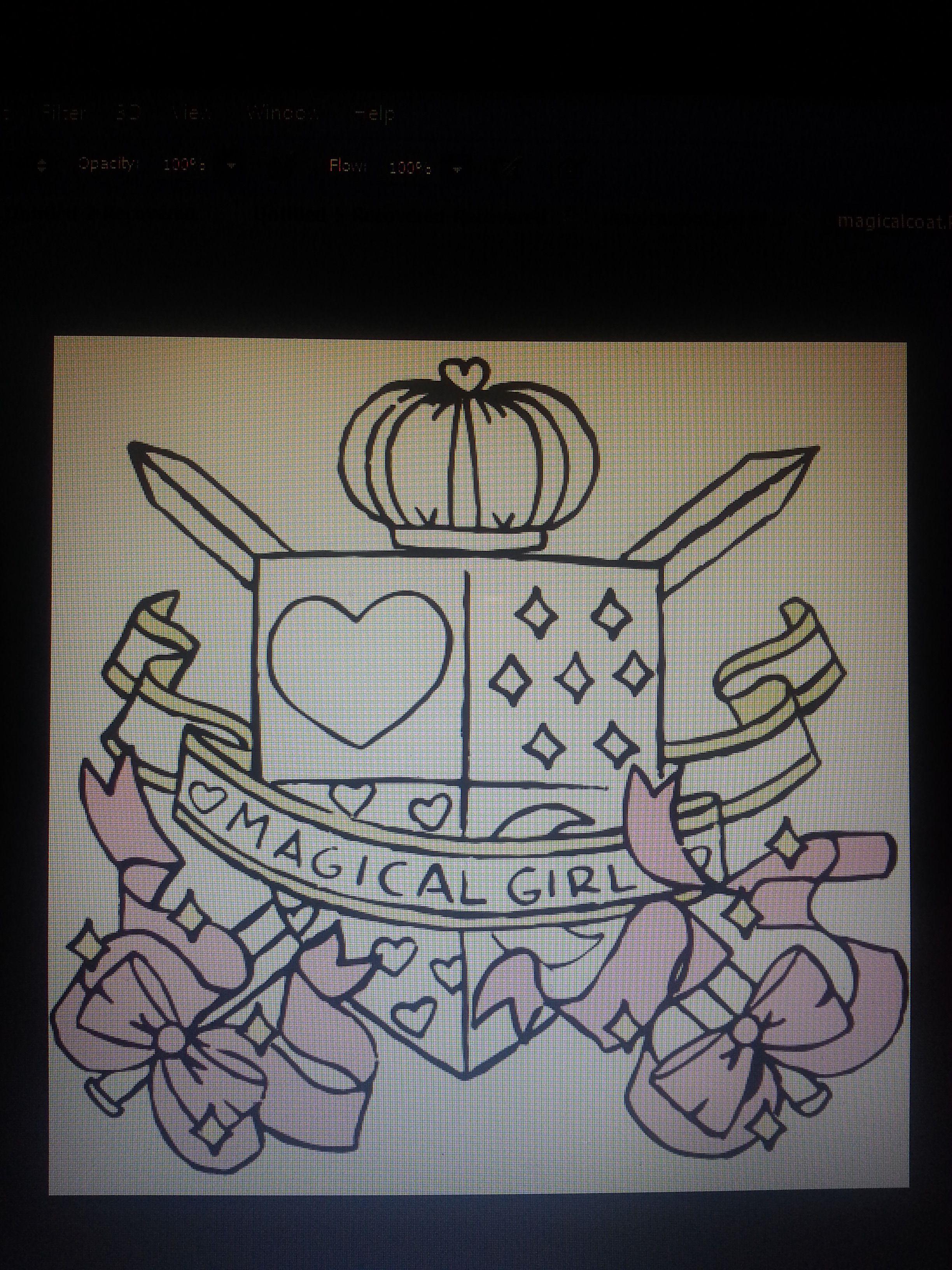 magical girl design - Google Search