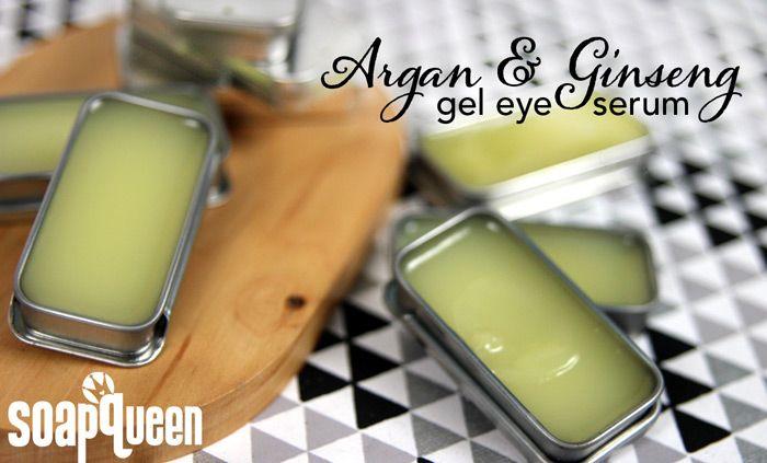 Argan & Ginseng Gel Eye Serum on Soap Queen TV