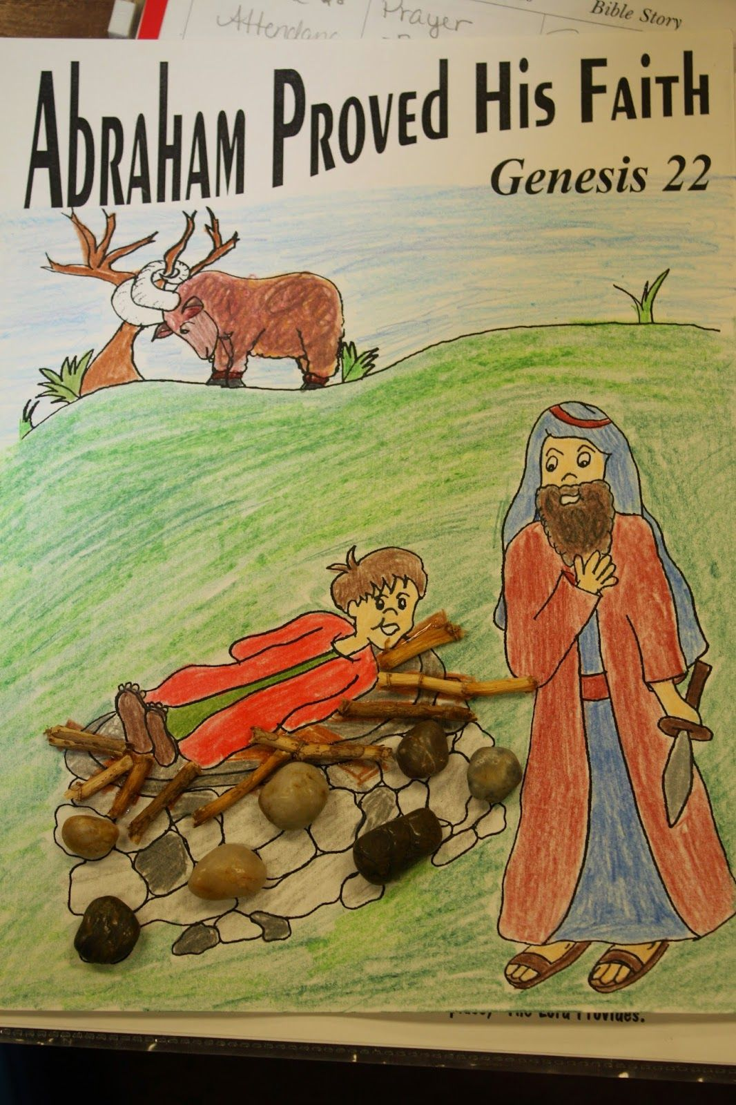 Hands On Bible Teacher Abraham Is Faithful K 2 Sunday School
