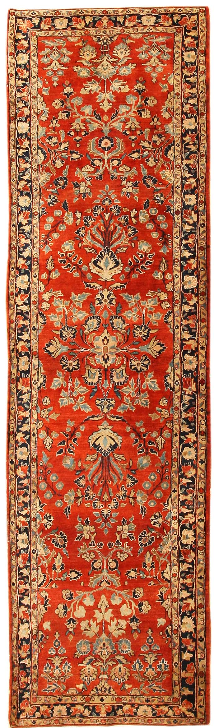 Interior Nice Spectacular Red Rug Runner Design Ideas With Antique Sarouk Perisan Style Runners