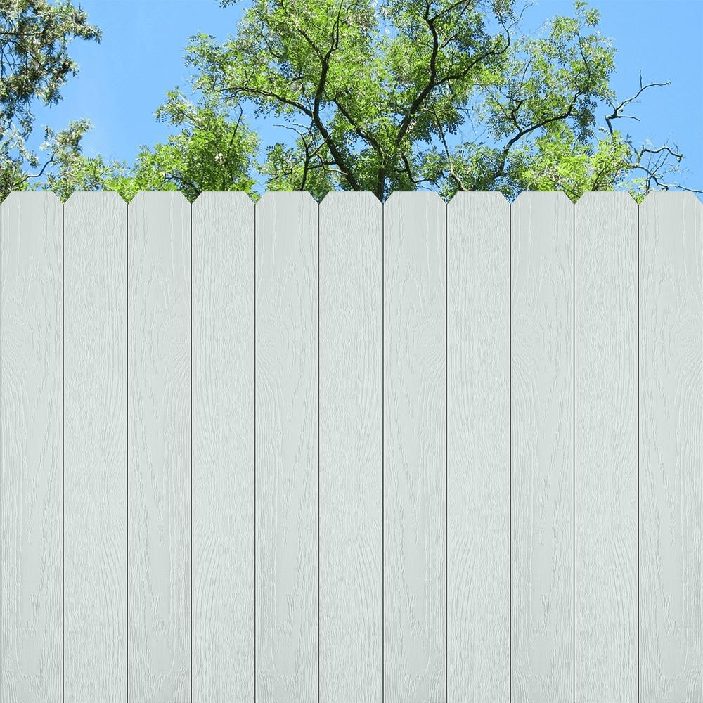 Behr 5 Gal 730e 1 Polar White Solid Color House And Fence