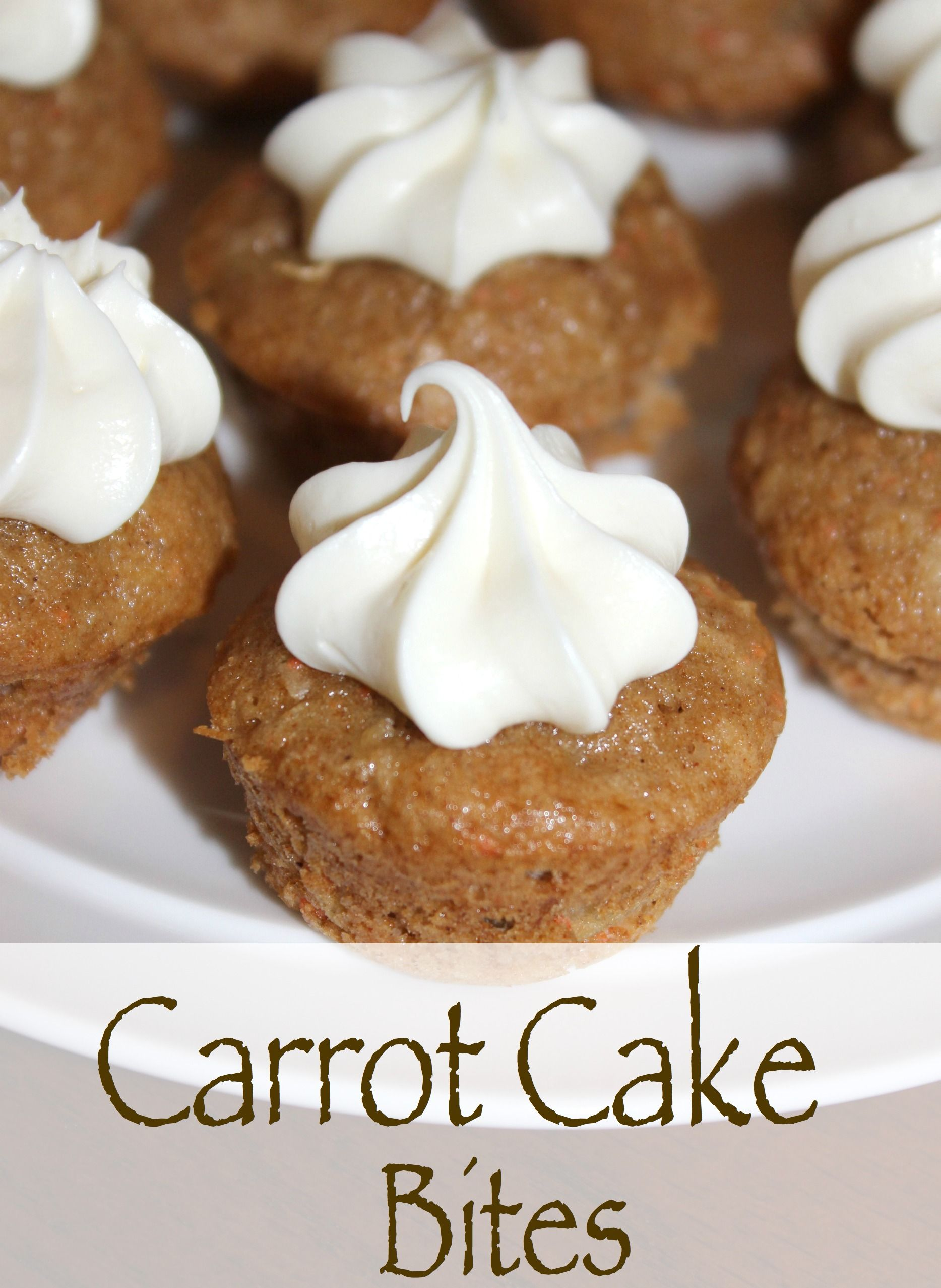 Carrot Cake Bites Pampered Chef