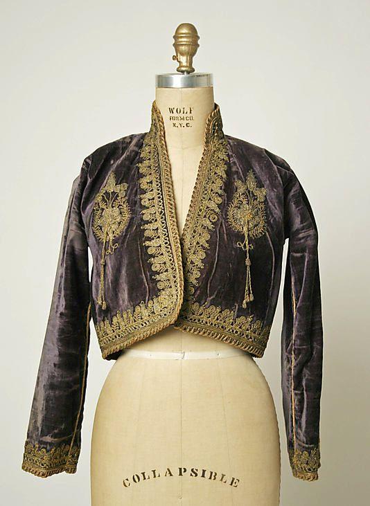 Bolero 1800 1941 Iranian Elbise Kiyafet Aplike