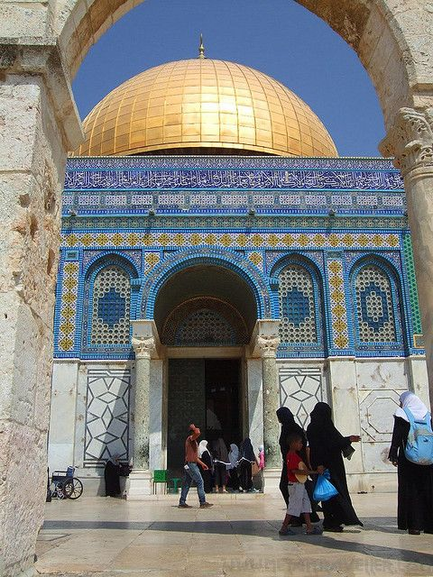 Dome Of The Rock by Metal Traveller, via Flickr