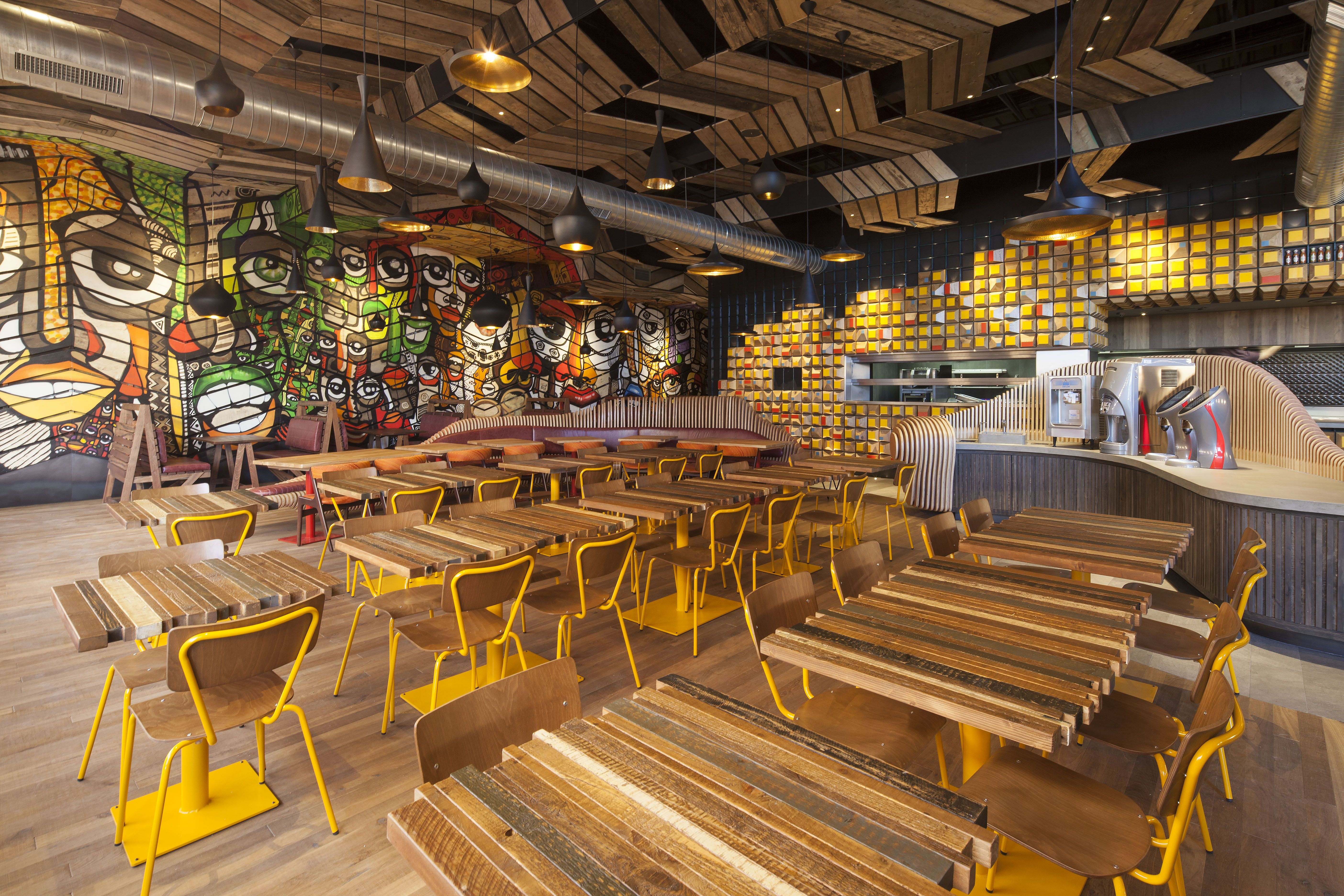 Project Nandos Teesside Location Client Interior Design STAC Architecture Lighting