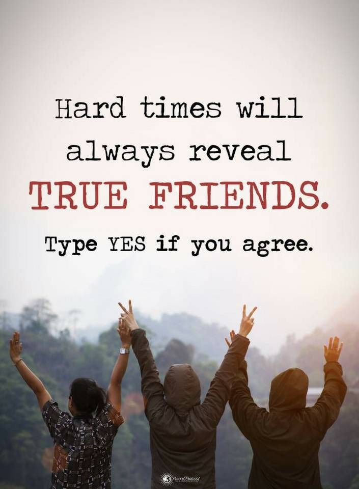 Friendship Quotes Hard Time Will Always Reveal True Friends