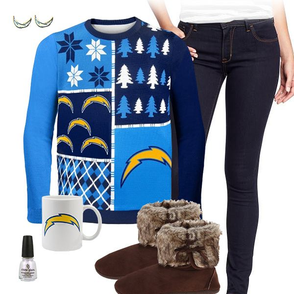 new style da00a 888f5 San Diego Chargers Sweater Outfit   San Diego Chargers ...