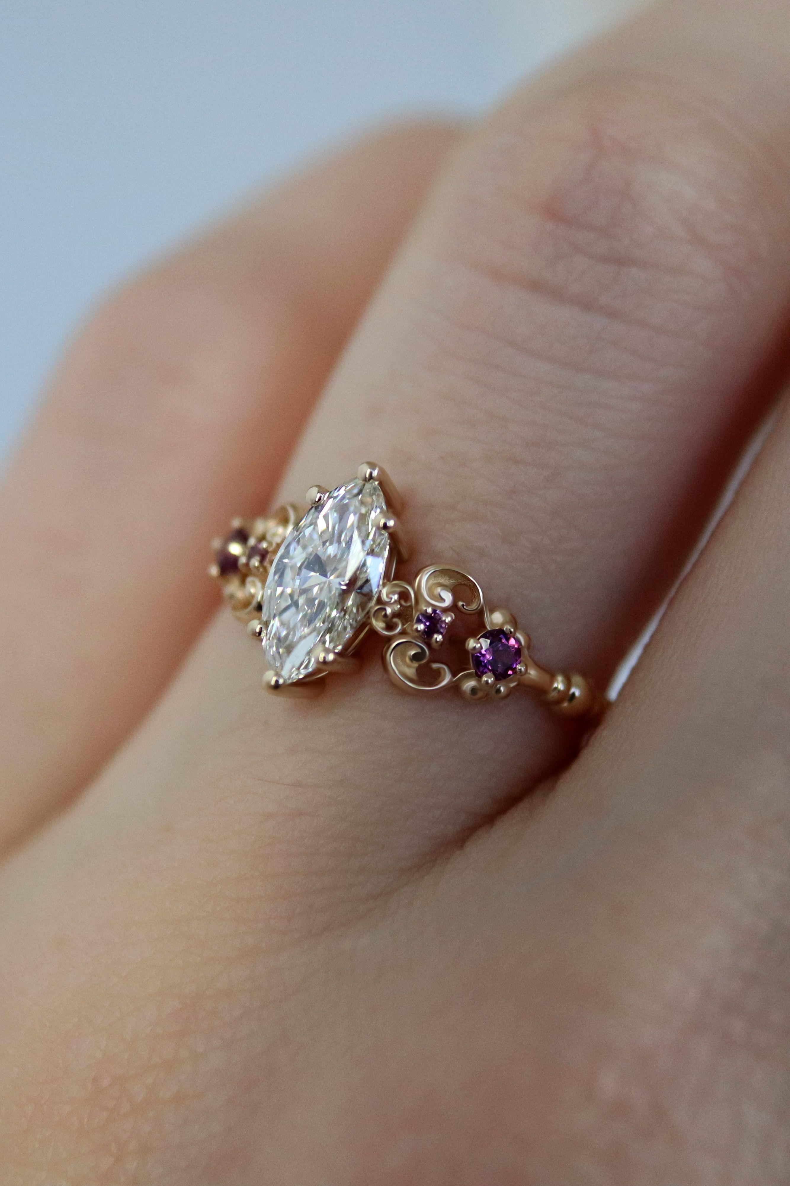 Pluto S Talisman Ring Pretty Wedding Rings Pink Wedding Rings
